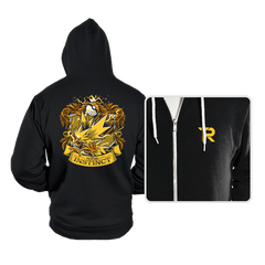 House Instinct - Zapplepuff - Hoodies - Hoodies - RIPT Apparel