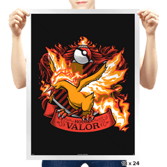 House Valor - Moltredor - Prints - Posters - RIPT Apparel