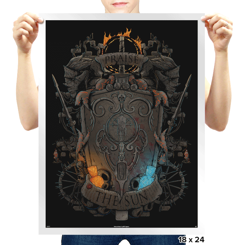Ash to Embers - Prints - Posters - RIPT Apparel