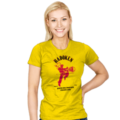 Hadoken Whiskey Exclusive - Womens - T-Shirts - RIPT Apparel