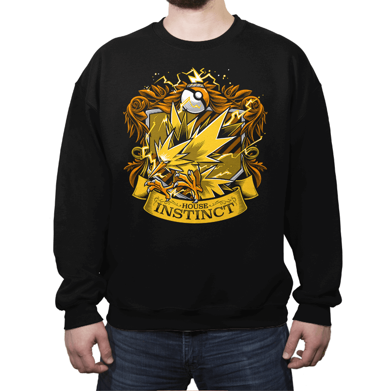 House Instinct - Zapplepuff Exclusive - Crew Neck - Crew Neck - RIPT Apparel