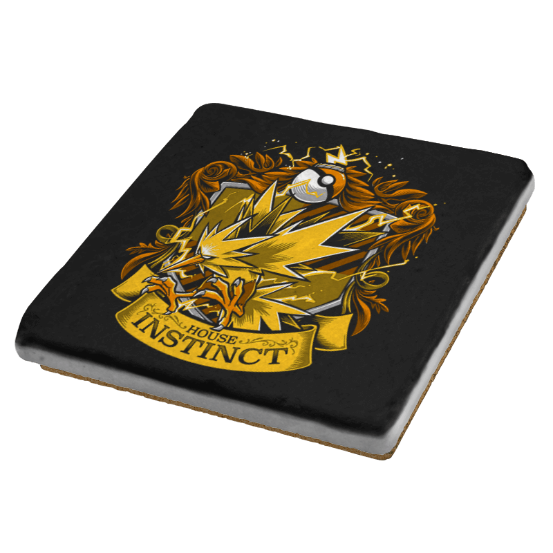House Instinct - Zapplepuff Exclusive - Coasters - Coasters - RIPT Apparel