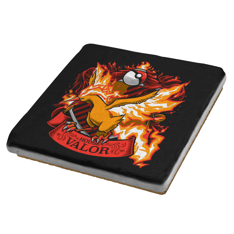 House Valor - Moltredor Exclusive - Coasters - Coasters - RIPT Apparel