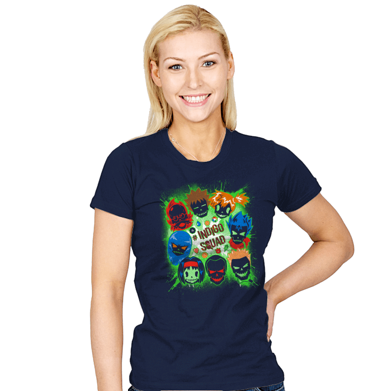 Indigo Squad - Womens - T-Shirts - RIPT Apparel