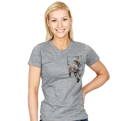 Pocket Raider - Womens - T-Shirts - RIPT Apparel