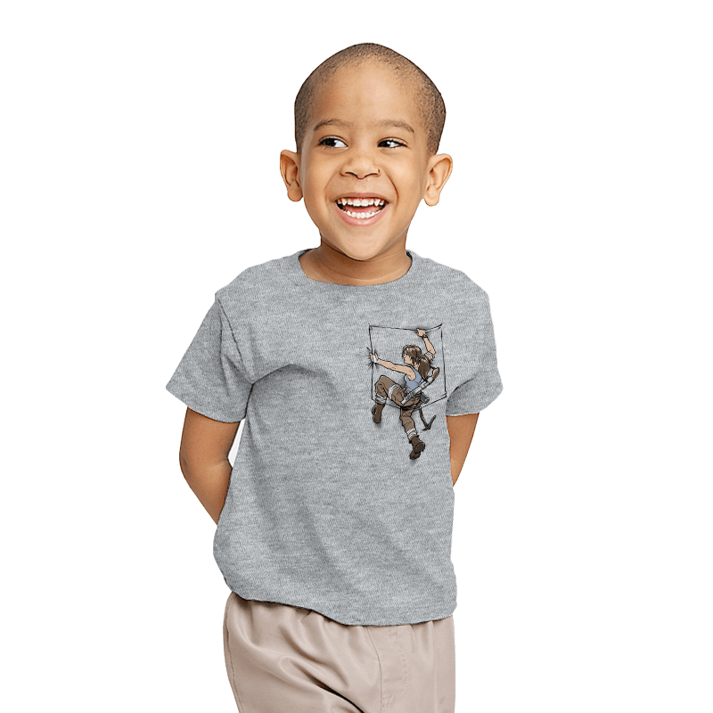 Pocket Raider - Youth - T-Shirts - RIPT Apparel