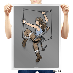 Pocket Raider - Prints - Posters - RIPT Apparel