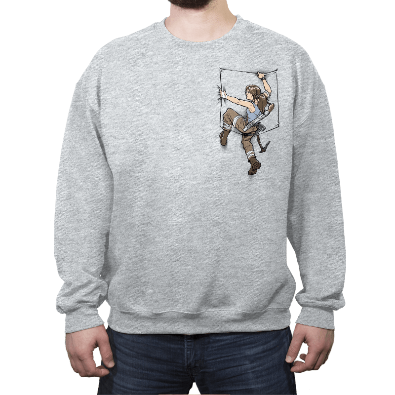 Pocket Raider - Crew Neck - Crew Neck - RIPT Apparel