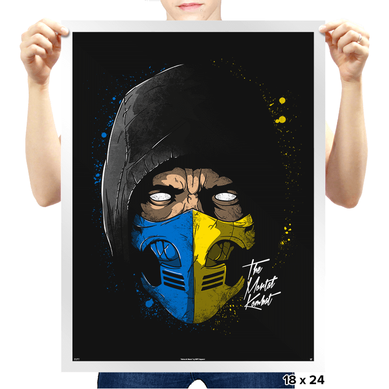 Daft Mortal - Prints - Posters - RIPT Apparel