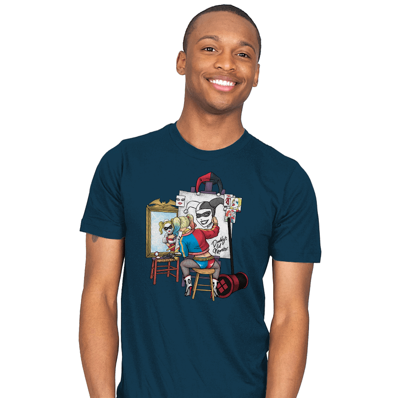 Triple Harley Portrait - Mens - T-Shirts - RIPT Apparel