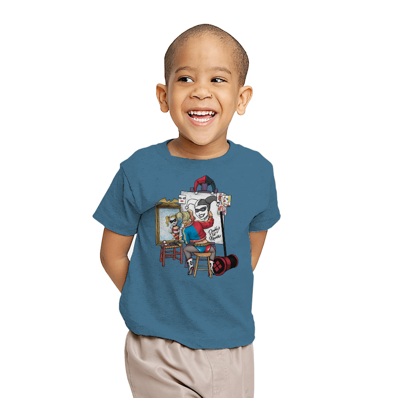 Triple Harley Portrait - Youth - T-Shirts - RIPT Apparel