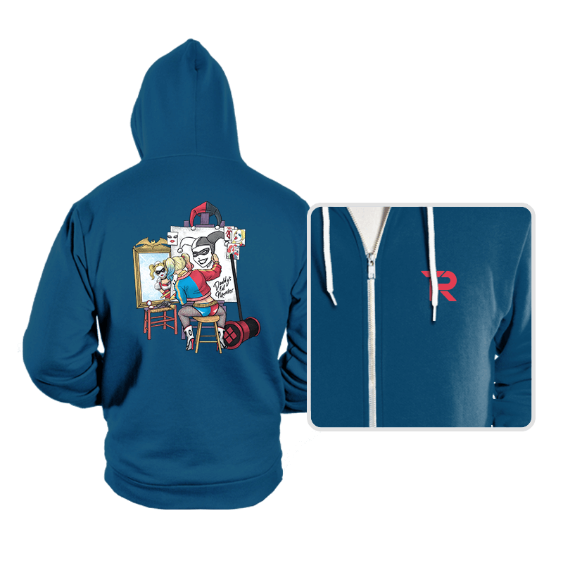Triple Harley Portrait - Hoodies - Hoodies - RIPT Apparel