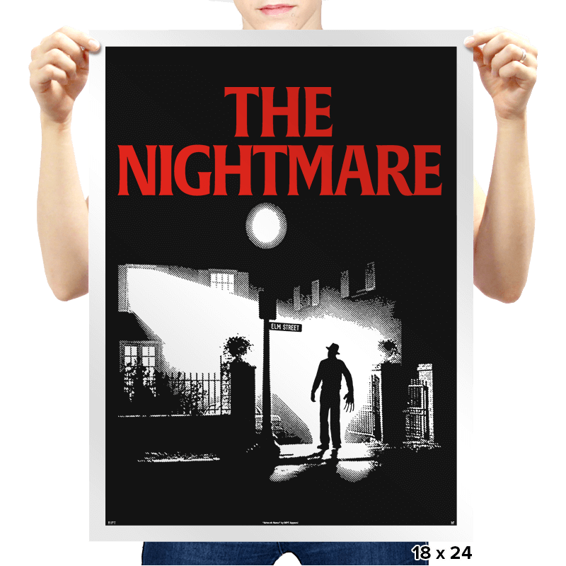 The Nightmare - Prints - Posters - RIPT Apparel