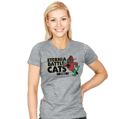 Eternia Battle Cats - Womens - T-Shirts - RIPT Apparel