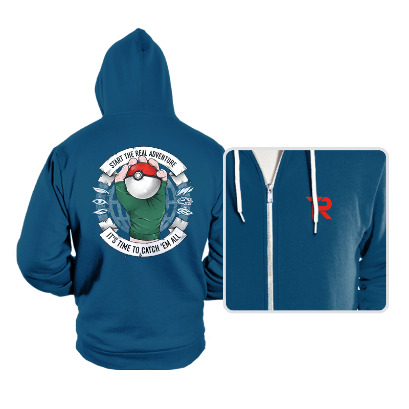 The Adventure Begins - Hoodies - Hoodies - RIPT Apparel