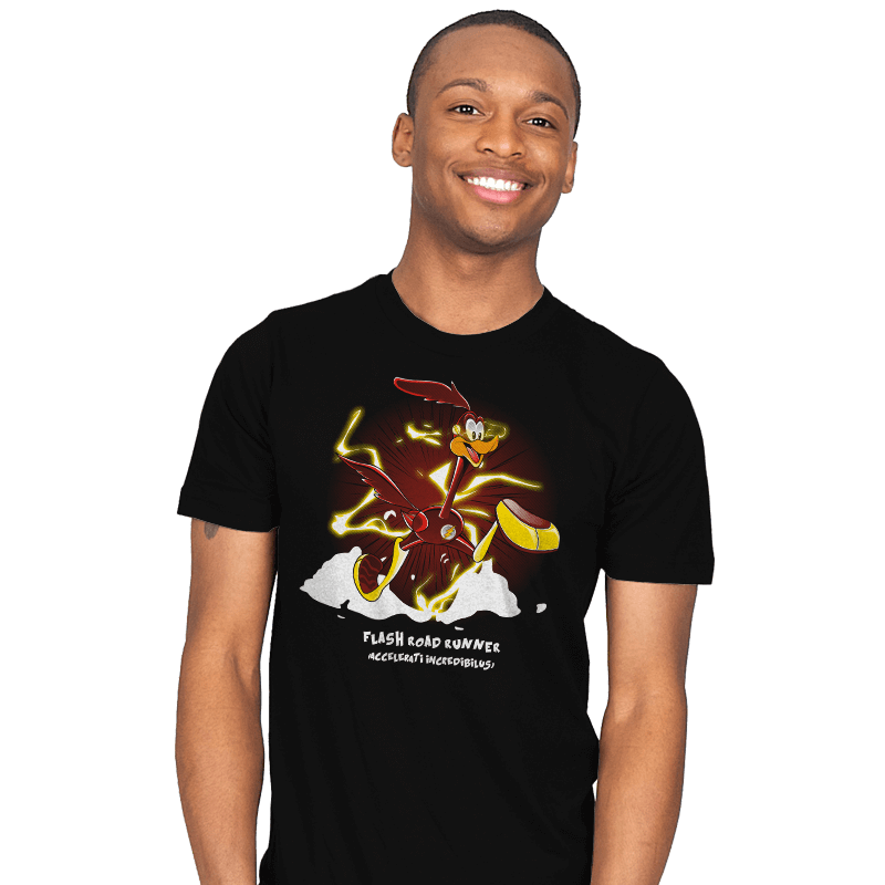 The Flash Runner  - Mens - T-Shirts - RIPT Apparel