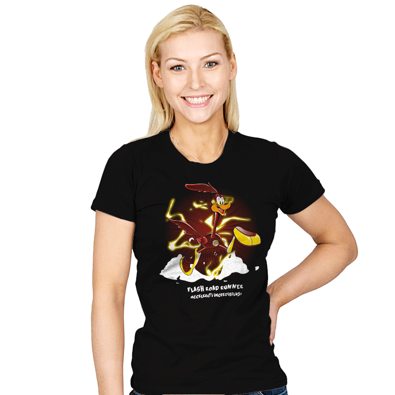 The Flash Runner  - Womens - T-Shirts - RIPT Apparel