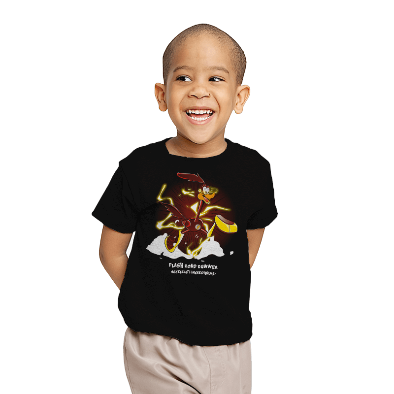 The Flash Runner  - Youth - T-Shirts - RIPT Apparel