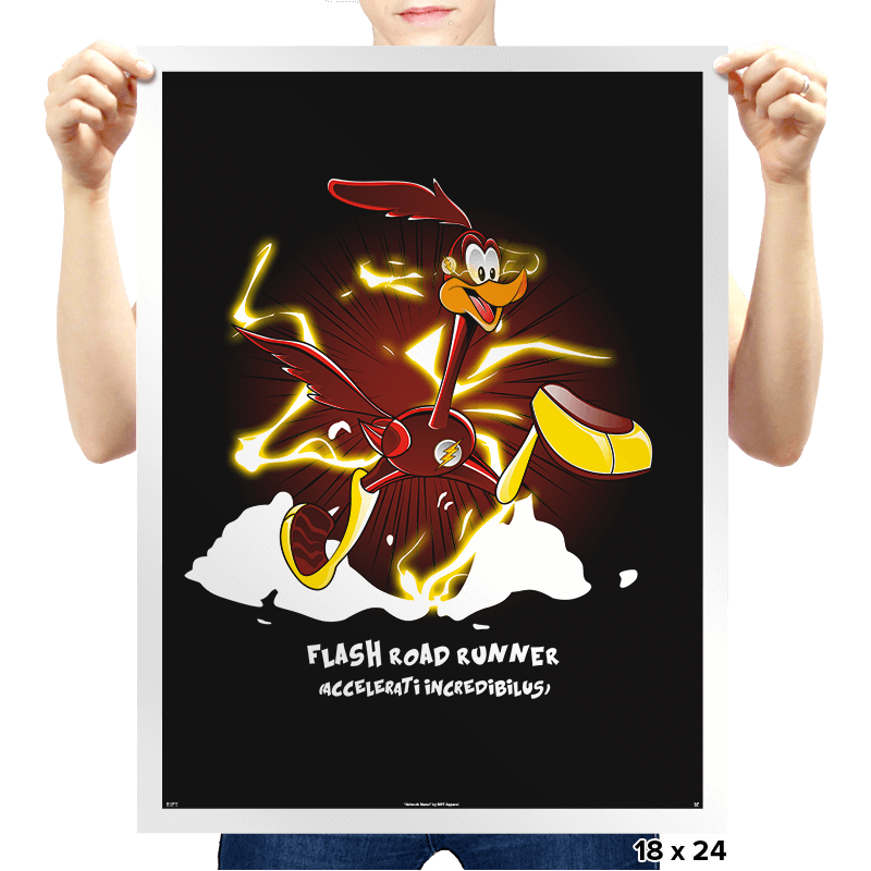 The Flash Runner  - Prints - Posters - RIPT Apparel