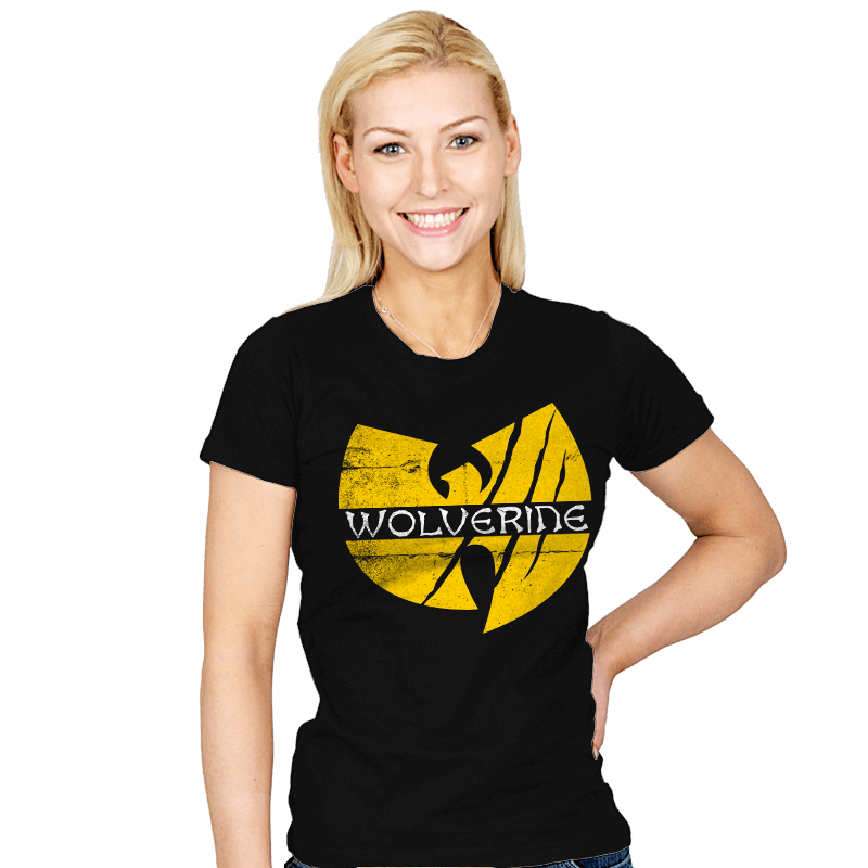 Wu-verine - Womens - T-Shirts - RIPT Apparel