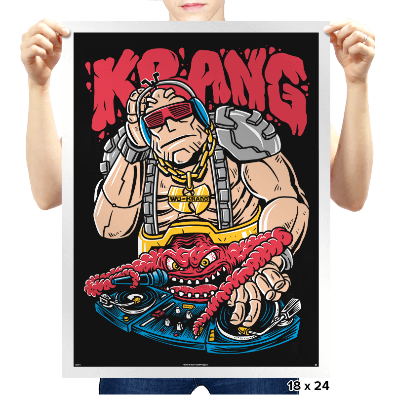 Wu-Krang Clan - Prints - Posters - RIPT Apparel