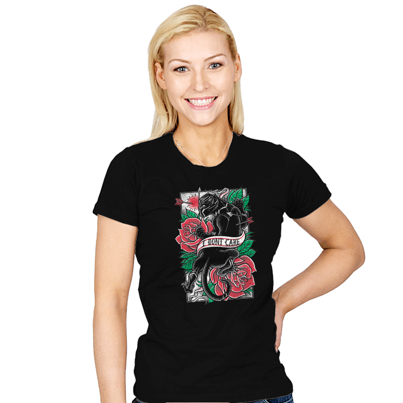 I DON'T CARE - Womens - T-Shirts - RIPT Apparel