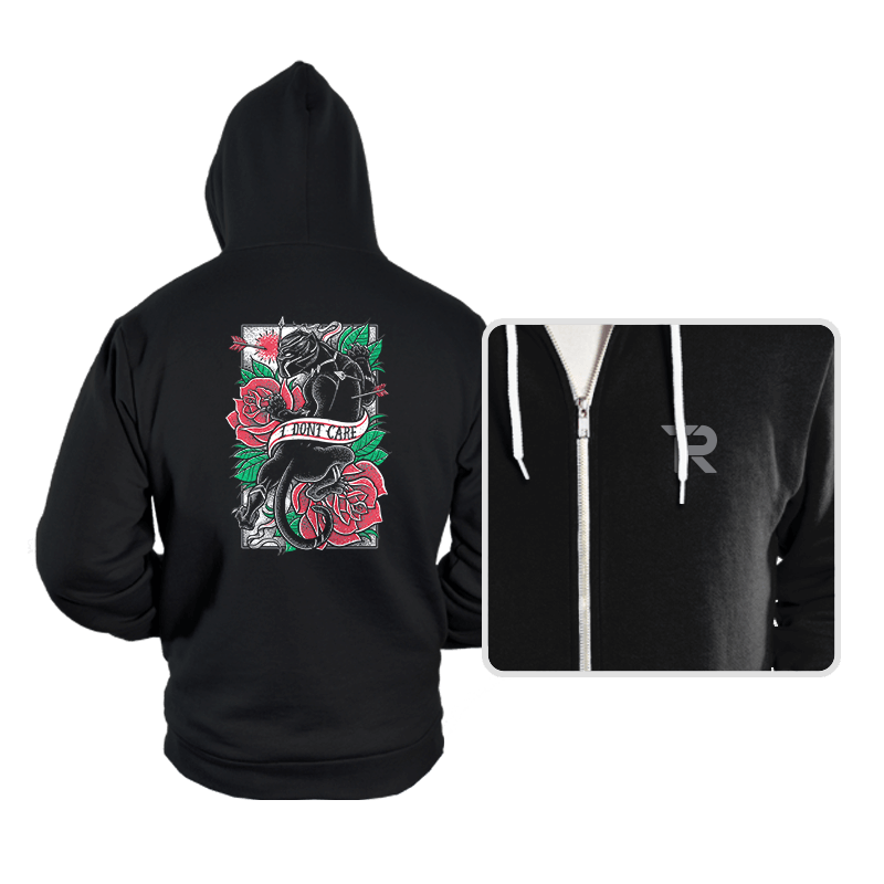 I DON'T CARE - Hoodies - Hoodies - RIPT Apparel