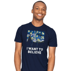 Starry Files - Mens - T-Shirts - RIPT Apparel