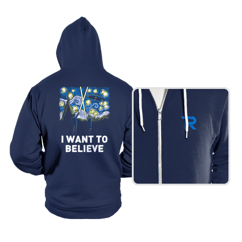 Starry Files - Hoodies - Hoodies - RIPT Apparel