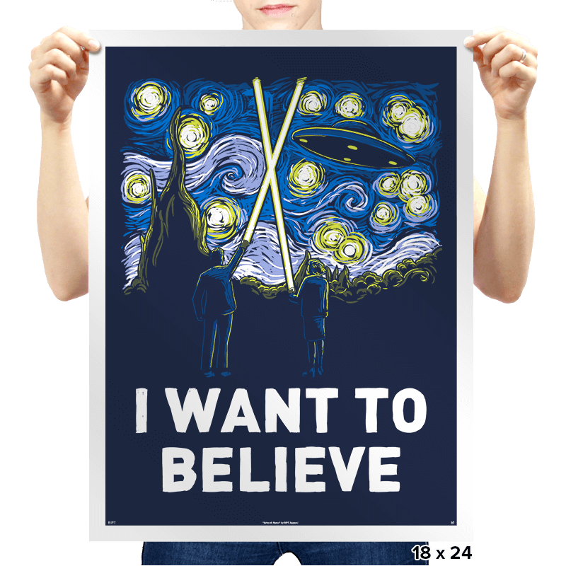 Starry Files - Prints - Posters - RIPT Apparel