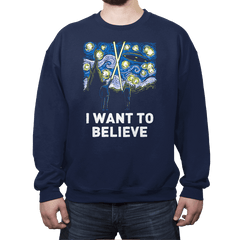 Starry Files - Crew Neck - Crew Neck - RIPT Apparel