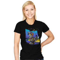 The Crossing of Quintessa - Womens - T-Shirts - RIPT Apparel