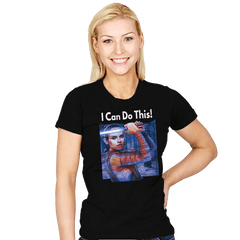 I Can Do This! - Womens - T-Shirts - RIPT Apparel