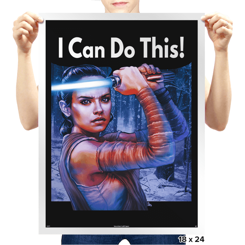 I Can Do This! - Prints - Posters - RIPT Apparel