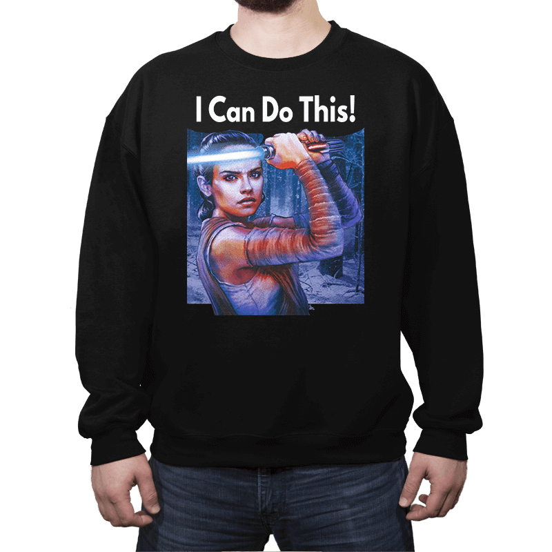 I Can Do This! - Crew Neck - Crew Neck - RIPT Apparel