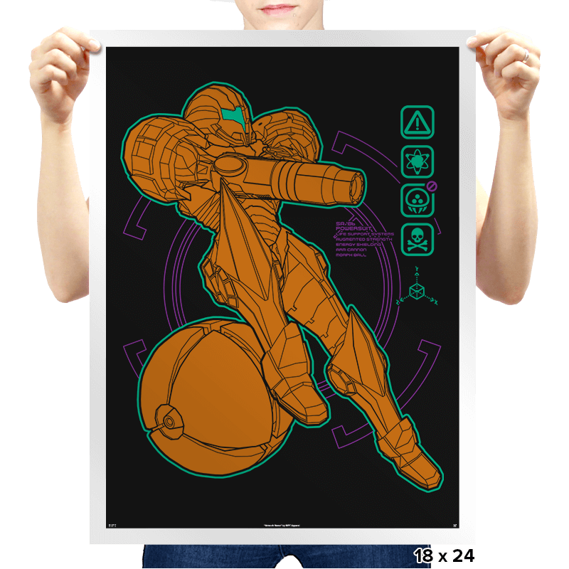 Anatomy of a Bounty Hunter - Prints - Posters - RIPT Apparel