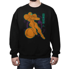 Anatomy of a Bounty Hunter - Crew Neck - Crew Neck - RIPT Apparel
