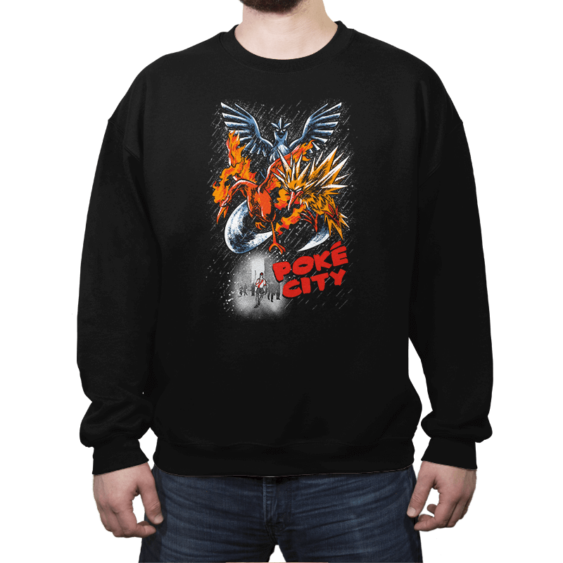 Poke City - Crew Neck - Crew Neck - RIPT Apparel