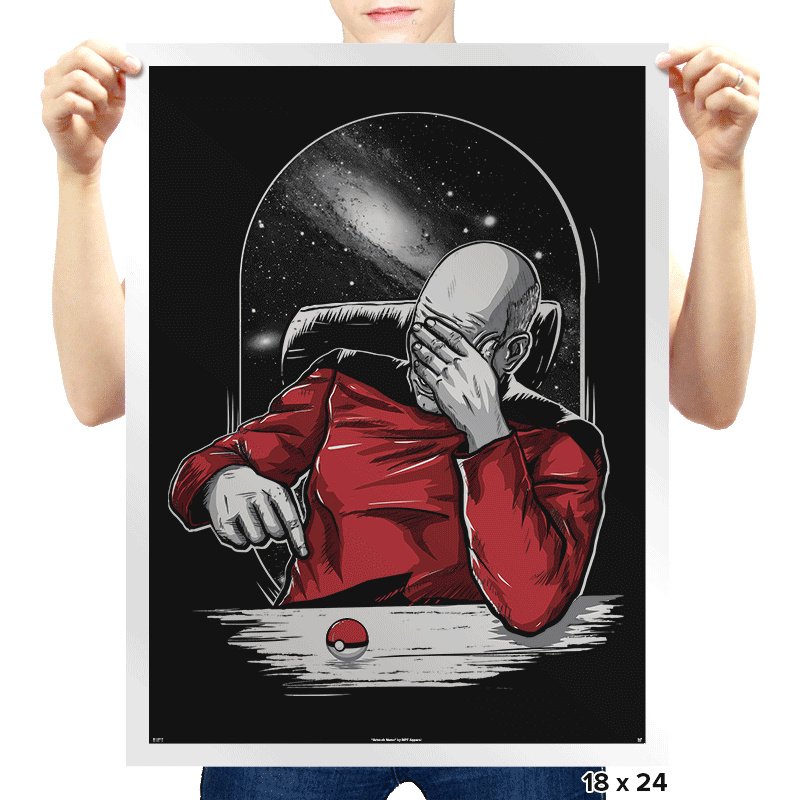 Facepalm GO - Prints - Posters - RIPT Apparel
