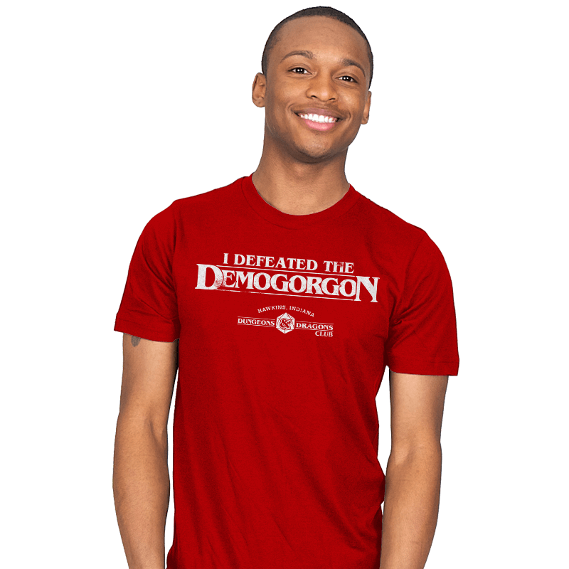 I Defeated The Demogorgon - Mens - T-Shirts - RIPT Apparel
