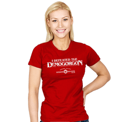 I Defeated The Demogorgon - Womens - T-Shirts - RIPT Apparel