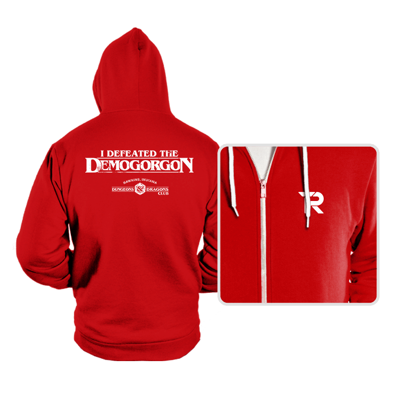 I Defeated The Demogorgon - Hoodies - Hoodies - RIPT Apparel