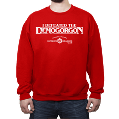 I Defeated The Demogorgon - Crew Neck - Crew Neck - RIPT Apparel