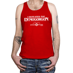 I Defeated The Demogorgon - Tanktop - Tanktop - RIPT Apparel