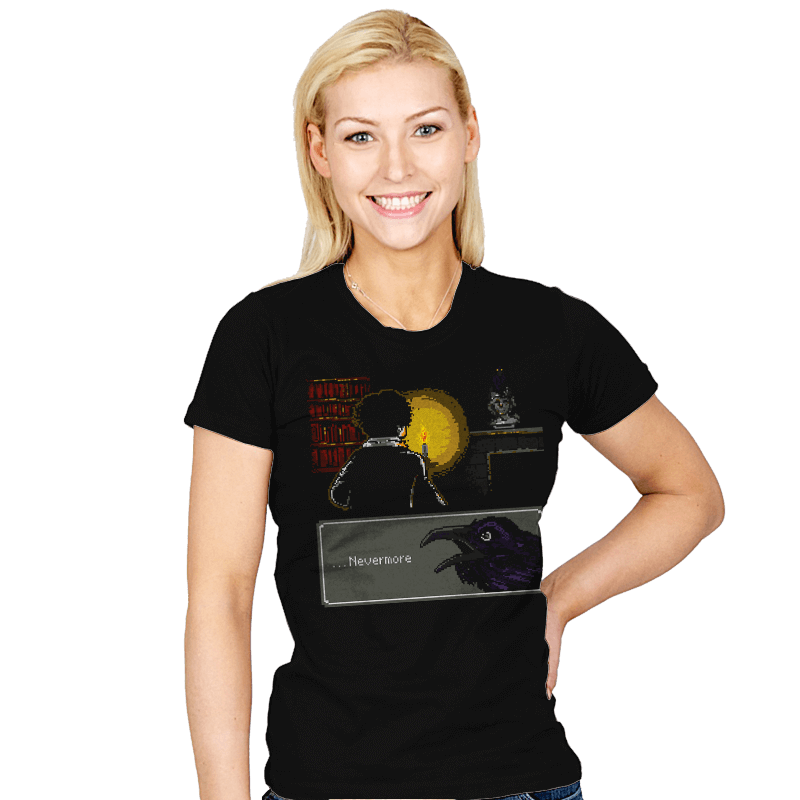 ...Nevermore - Womens - T-Shirts - RIPT Apparel