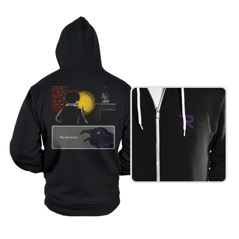...Nevermore - Hoodies - Hoodies - RIPT Apparel