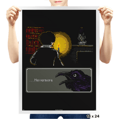 ...Nevermore - Prints - Posters - RIPT Apparel