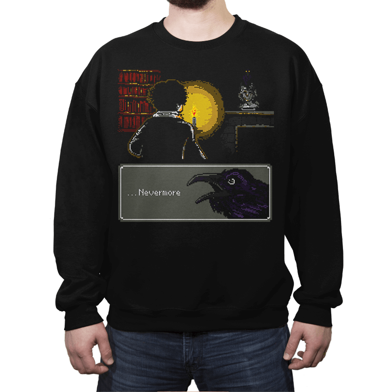 ...Nevermore - Crew Neck - Crew Neck - RIPT Apparel