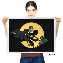 The Adventures of Leon & Mathilda - Prints - Posters - RIPT Apparel
