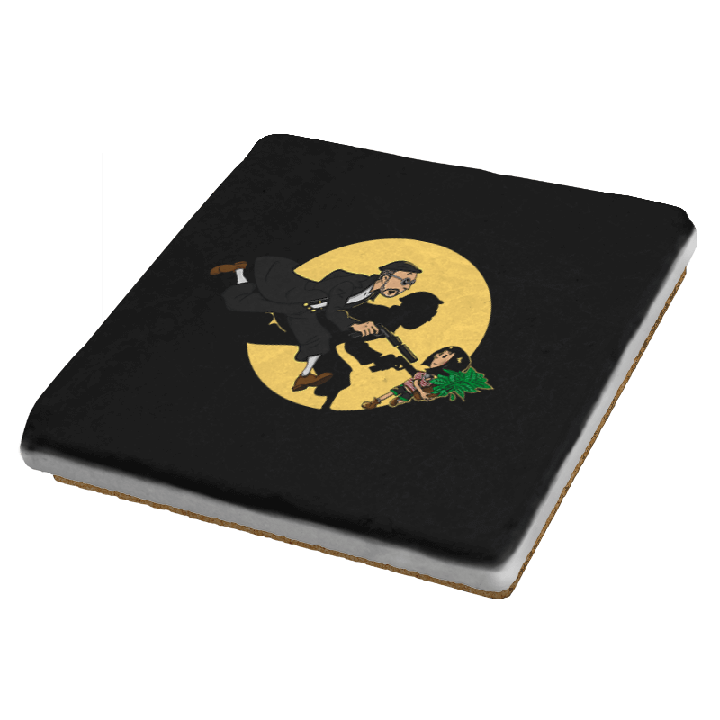 The Adventures of Leon & Mathilda - Coasters - Coasters - RIPT Apparel